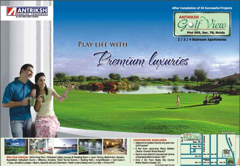 Antriksh Golf View 1