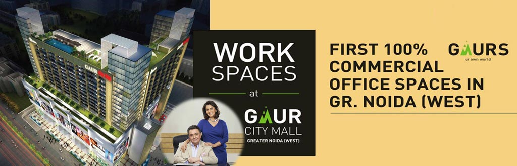Gaur City Mall Office Spaces