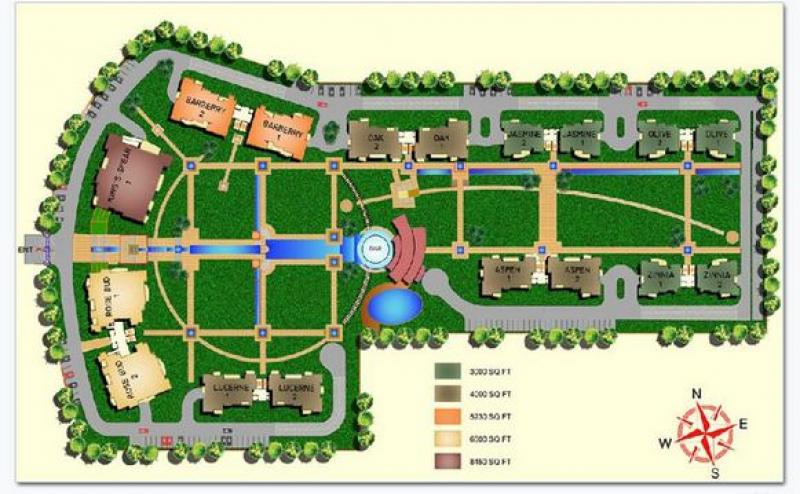 5 bhk 6500 sq ft residential apartment omaxe the forest for 6500 square foot house plans