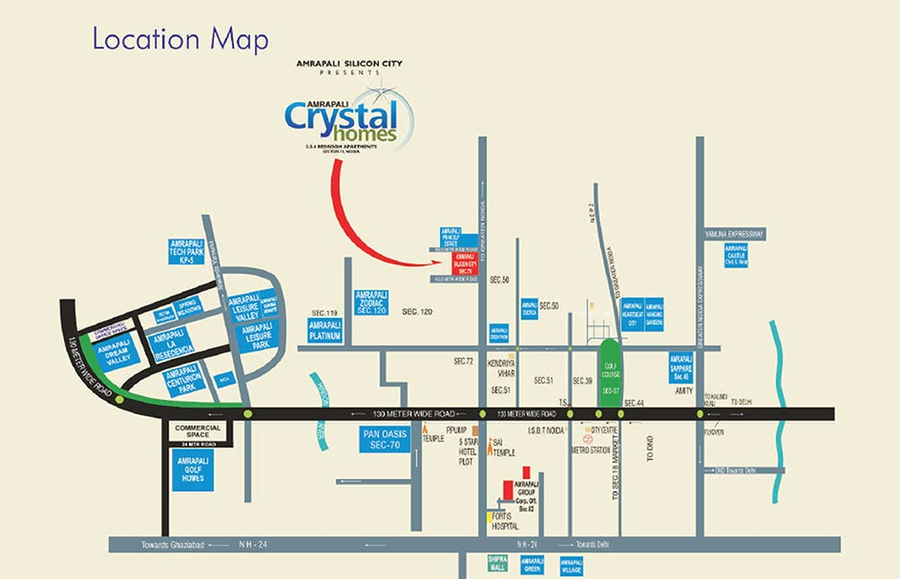 Amrapali Crystal Homes