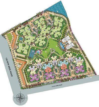 shri radha sky gardens price list