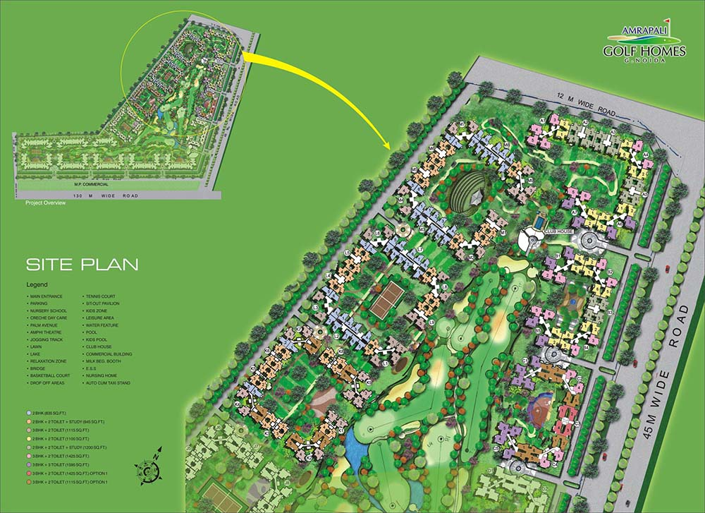 Amrapali Golf Homes
